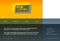 A great web design by Eye Level Interaction Design, Seattle, WA: