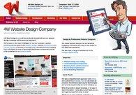 A great web design by 4W Web Design Ltd, London, United Kingdom: