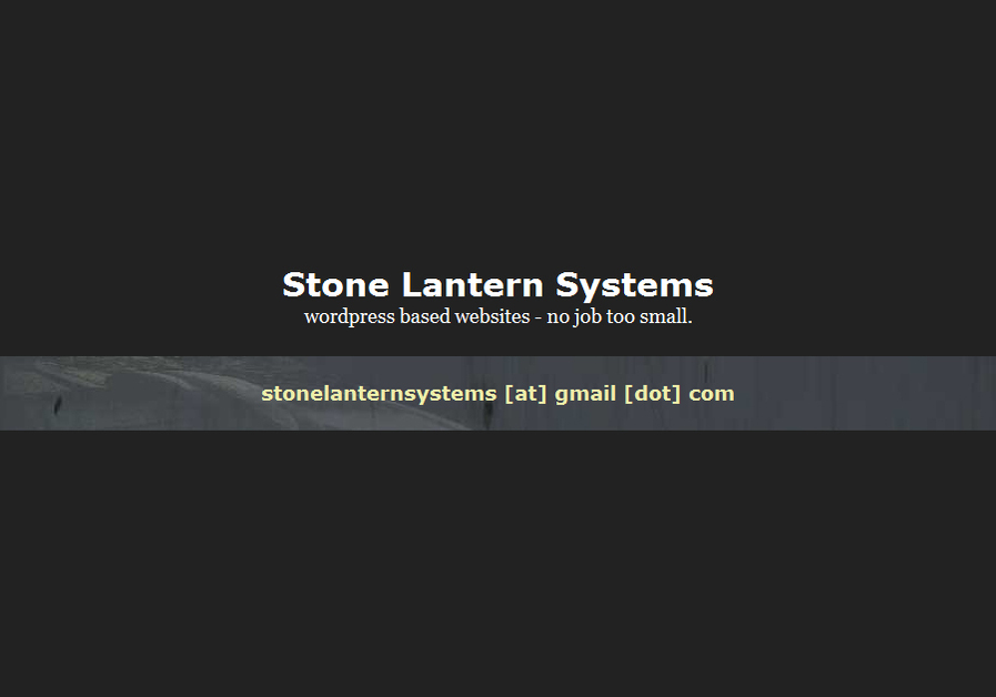 A great web design by Stone Lantern Systems, London, United Kingdom: