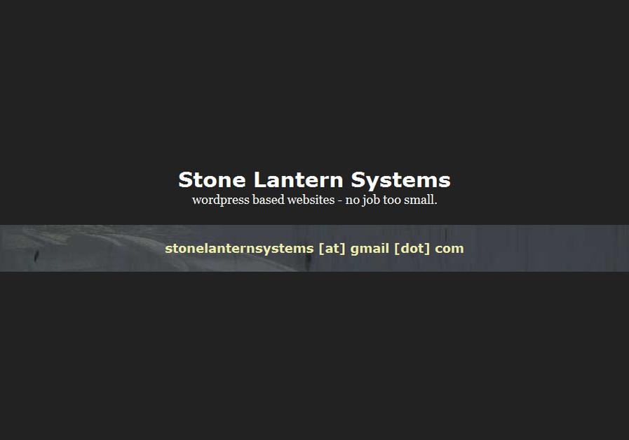 A great web design by Stone Lantern Systems, London, United Kingdom:
