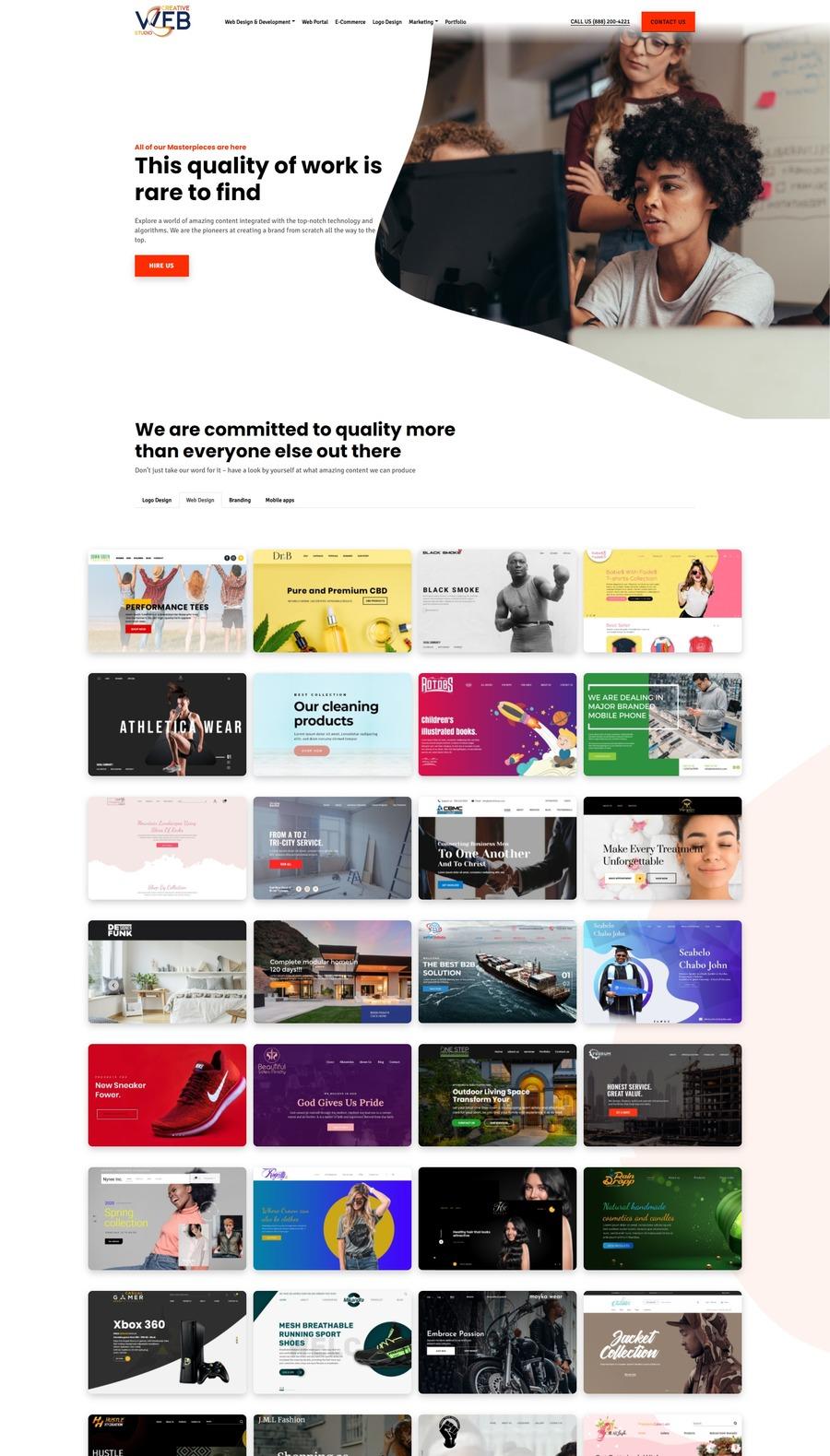A great web design by Creative Website Studio, Houston, TX:
