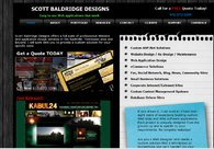 A great web design by Scott Baldridge Designs, Nashville, TN: