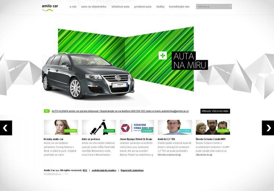 A great web design by madeo, Prague, Czech Republic: