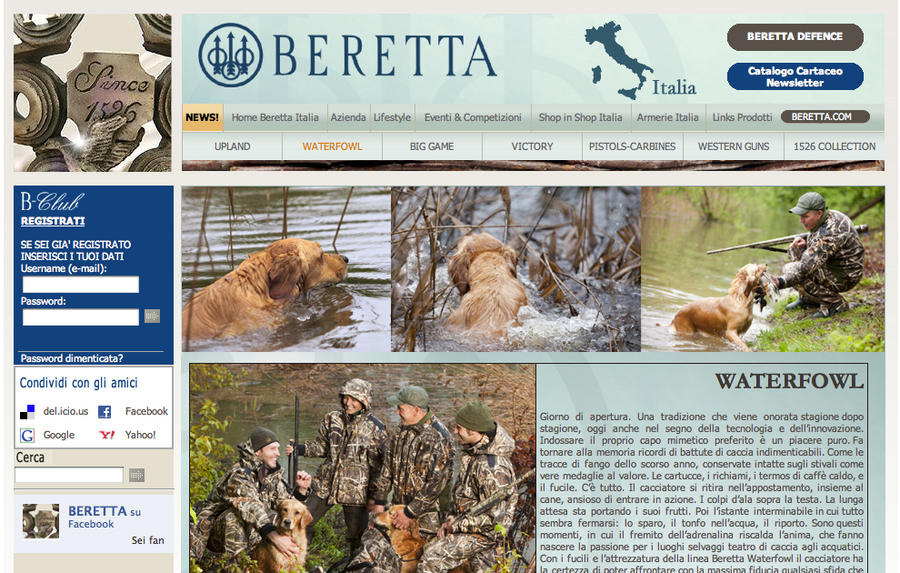 A great web design by Acrilica - Inbound Marketing, Milano, Italy: