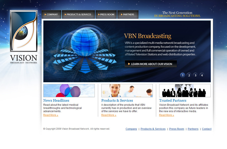 A great web design by ION-E Network, Inc., Philadelphia, PA: