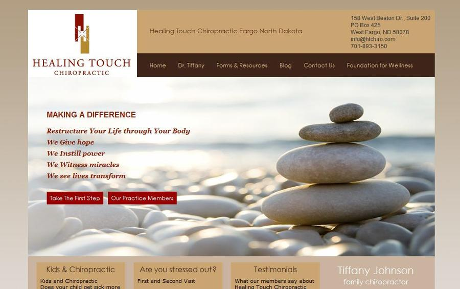A great web design by Onsharp, Minneapolis, MN: