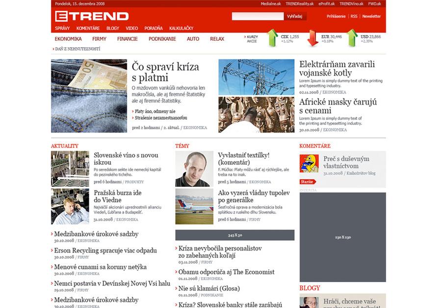 A great web design by MONOGRAM Design, Bratislava, Slovakia: