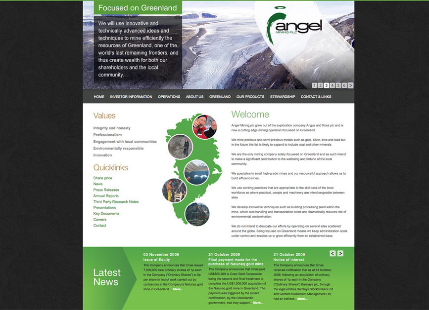 A great web design by dannycassidy.net, Dundee, United Kingdom: