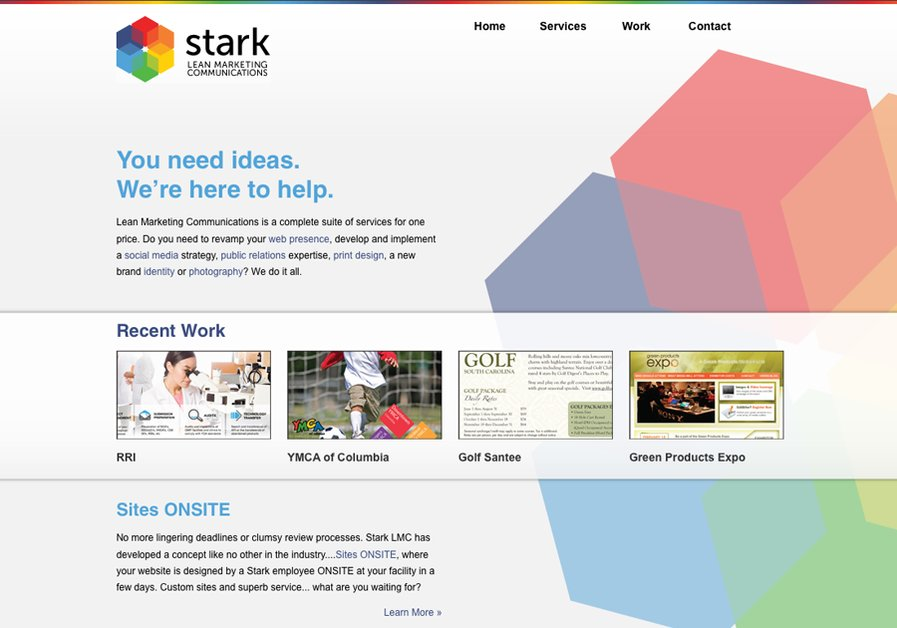 A great web design by Stark LMC, Charlotte, NC: