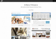 A great web design by Anthony Villanueva, Fort Myers, FL: