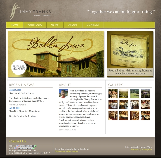 A great web design by PHYNEAS, Buffalo, NY: