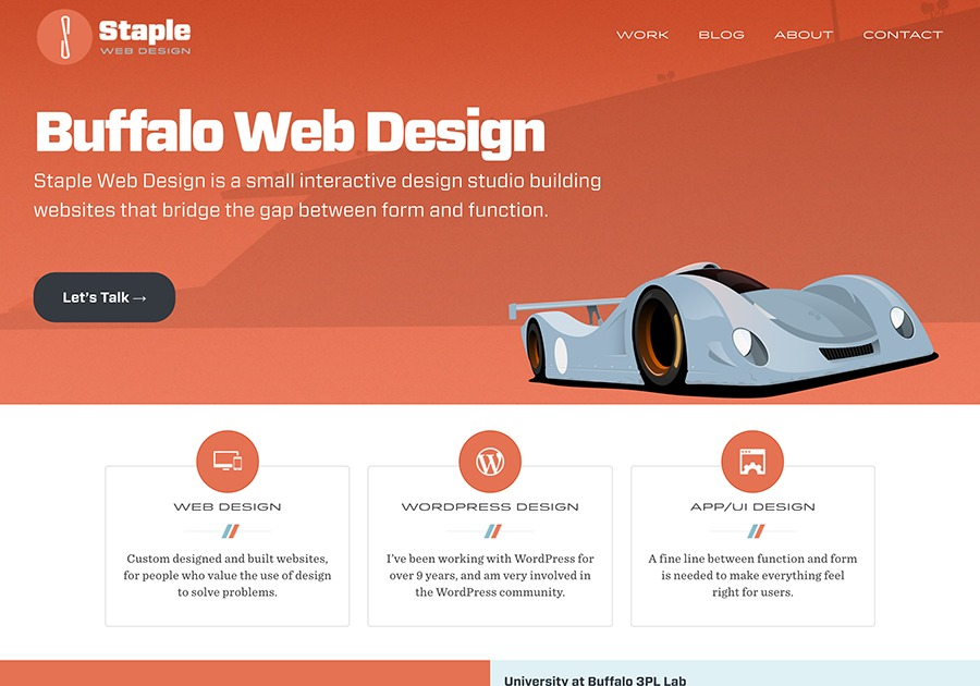 A great web design by Staple Creative, Buffalo, NY: Responsive Website, Portfolio , Technology , Wordpress