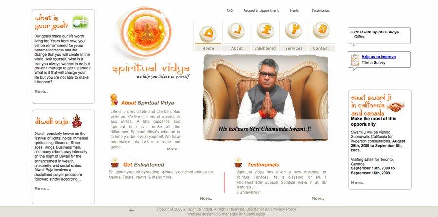 A great web design by SparkLogics, New York, NY: