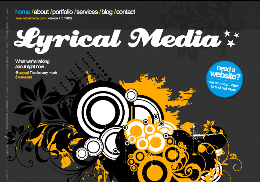 A great web design by Lyrical Media Ltd, Worthing, United Kingdom: