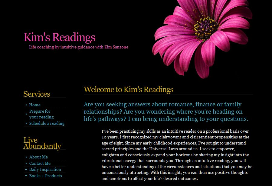 A great web design by SH Enterprises, Detroit, MI: