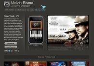 A great web design by Melvin Rivera, New York, NY: