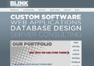A great web design by Blink Software Solutions: