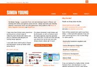 A great web design by Simon Young, Manchester, United Kingdom: