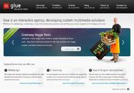 A great web design by Glue webdesign, Gent, Belgium: