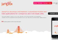 A great web design by JumpFox, LLC, San Francisco, CA: