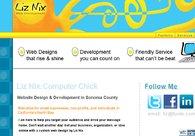 A great web design by Liz Nix, San Francisco, CA: