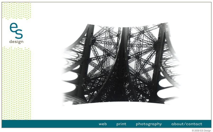 A great web design by Erica Schnuck, Charlotte, NC: