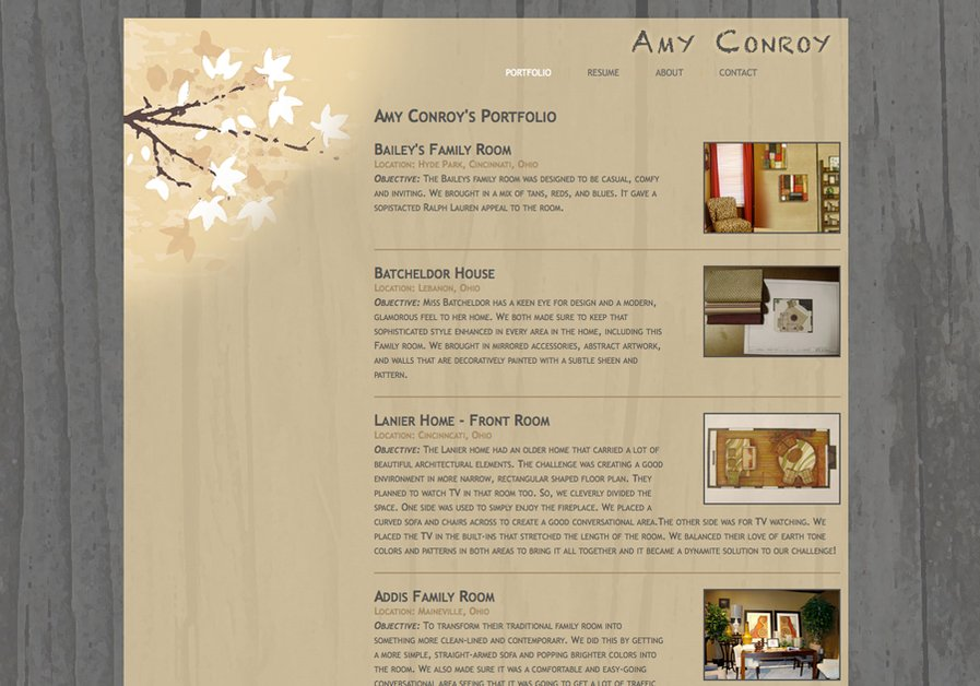 A great web design by Web Tectonics, Cincinnati, OH: