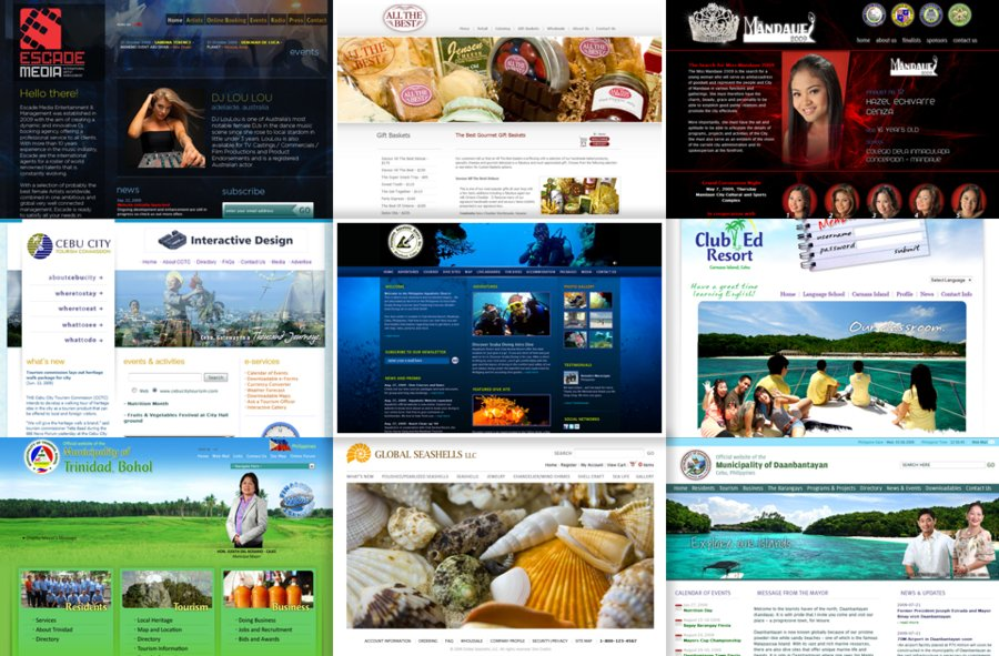 A great web design by Cebu Interactive Design, Cebu, Philippines: