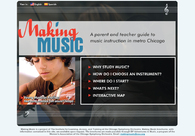 A great web design by Blue Agate, Chicago, IL: