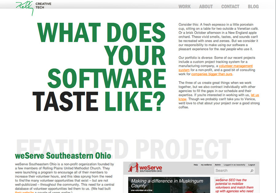 A great web design by Kelly Creative Tech, Columbus, OH:
