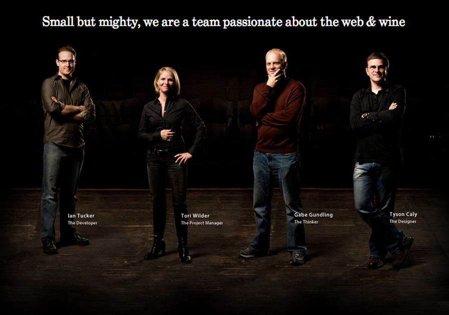 A great web design by Design Vineyard, San Francisco, CA: