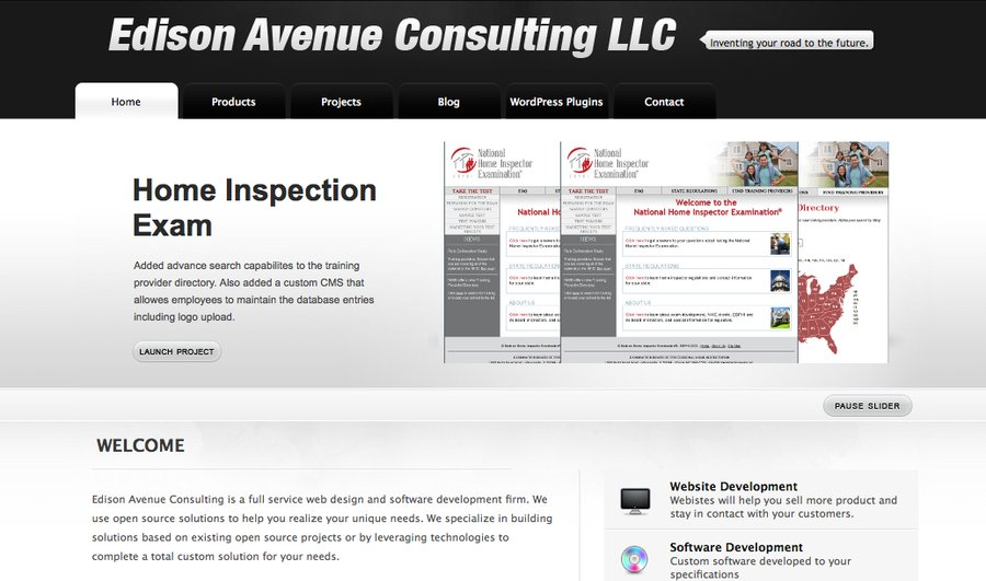 A great web design by Edison Avenue Consulting LLC, Chicago, IL: