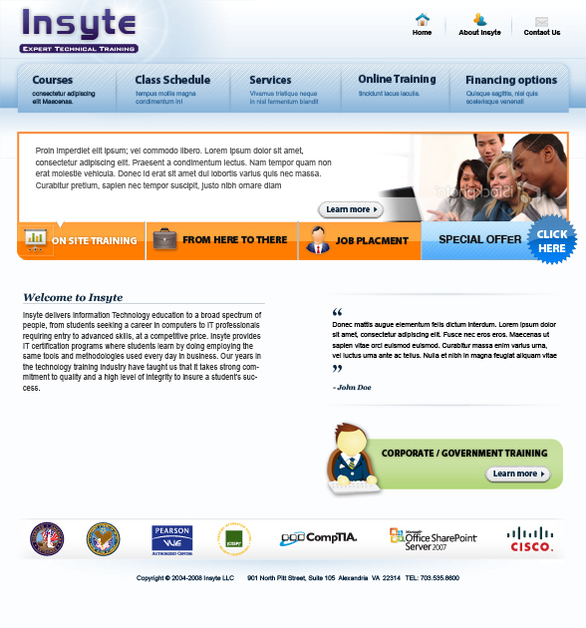 A great web design by Mor Vimmer, Washington DC, DC: