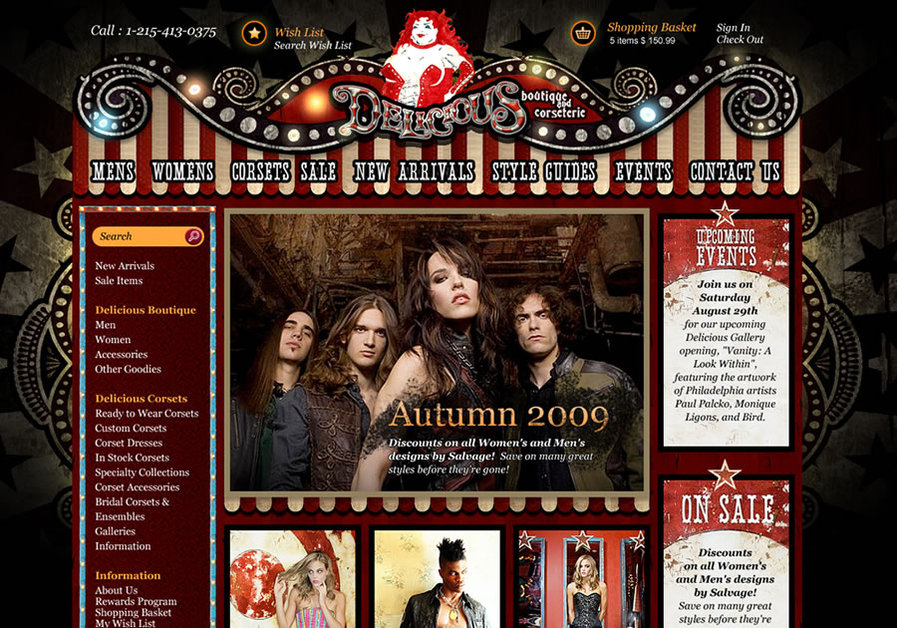 A great web design by Glendale Designs, Phoenix, AZ: