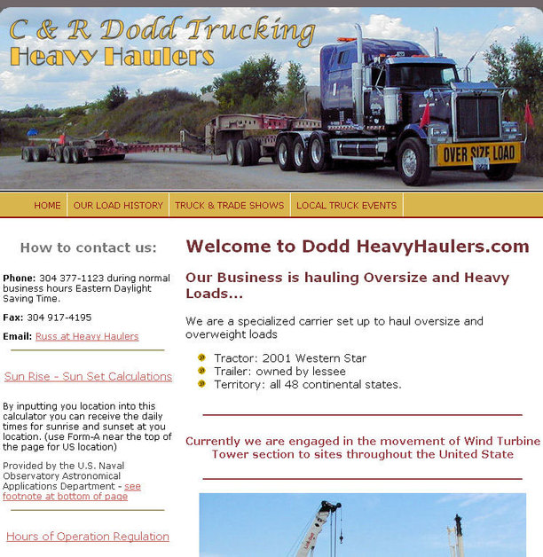 A great web design by Davidson's GraphiX, Parkersburg, WV: