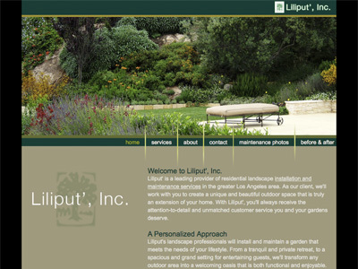 A great web design by Barry Mortenson, Ventura, CA: