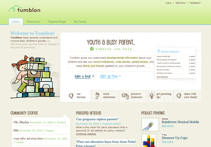 A great web design by Livefront, Minneapolis, MN: