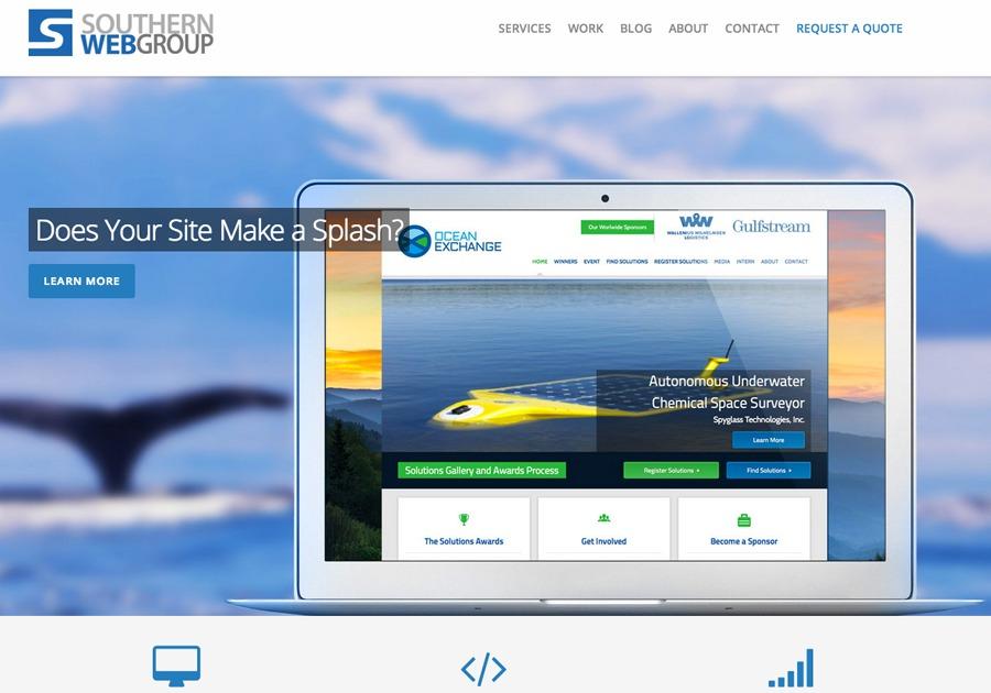 A great web design by Southern Web Group, Atlanta, GA: Responsive Website, Social/Community , Non Profit , Wordpress
