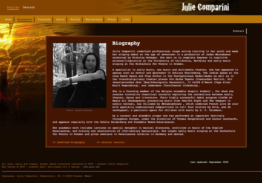 A great web design by Asni: Multimedia Art & Design, Wellington, New Zealand: