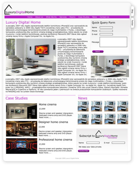 A great web design by GreenlightWeb, Manchester, United Kingdom: