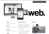 A great web design by magicLabs, Amsterdam, Netherlands: