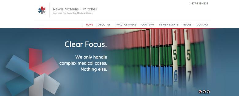 A great web design by Morgan Porter Design, Richmond, VA: