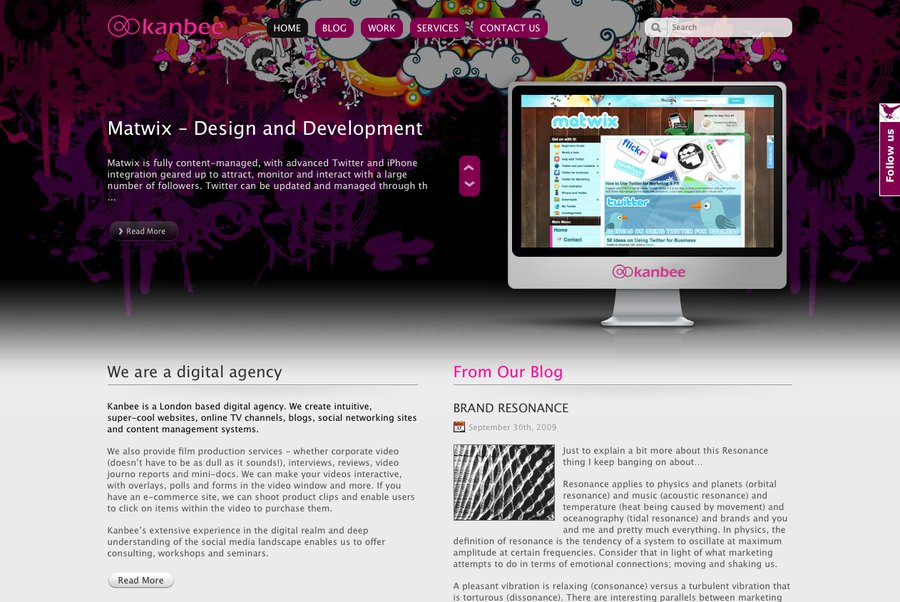 A great web design by Kanbee, London, United Kingdom: