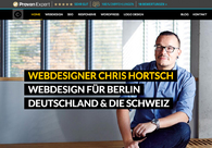 A great web design by Chris Hortsch, Berlin, Germany: