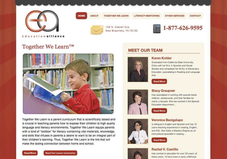 A great web design by Shane Guymon, Austin, TX:
