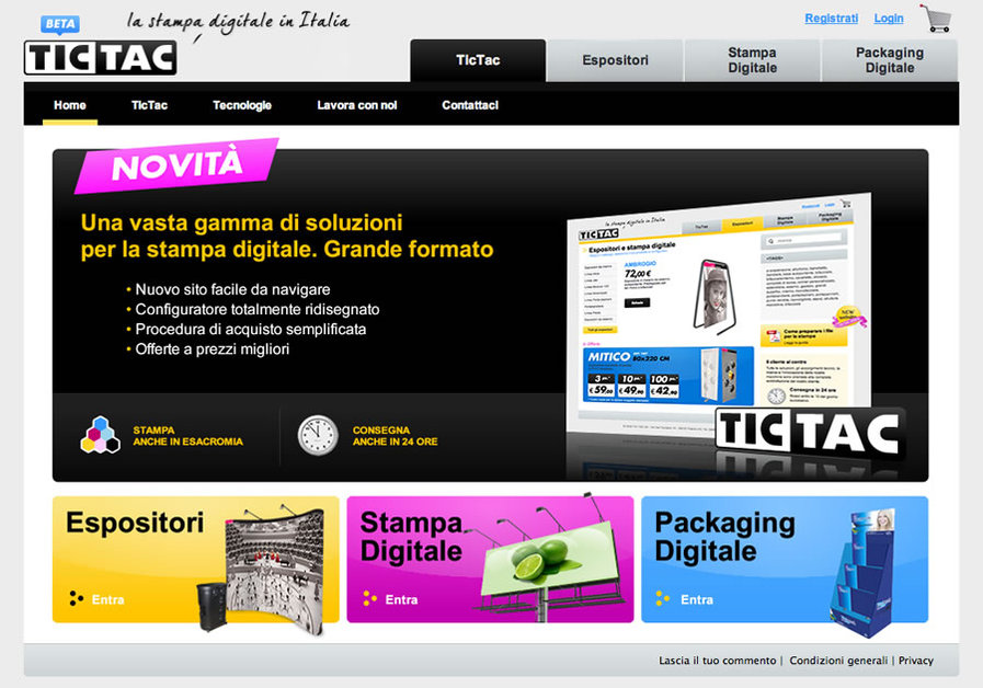 A great web design by forgebrand, Venezia, Italy: