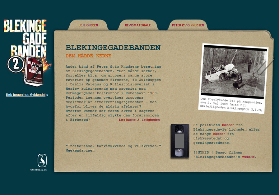 A great web design by God & co., Copenhagen, Denmark: