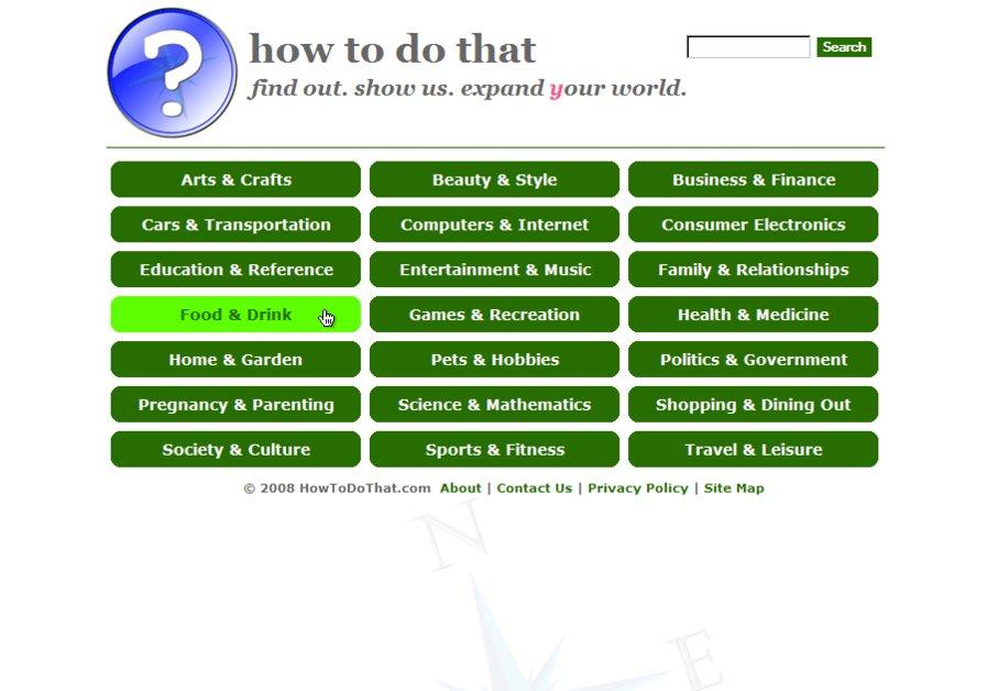 A great web design by One-Stop Website Shop, Cincinnati, OH: