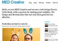A great web design by MED Creative, Dallas, TX: