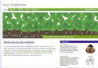A great web design by Rose Tomlinson, London, United Kingdom: